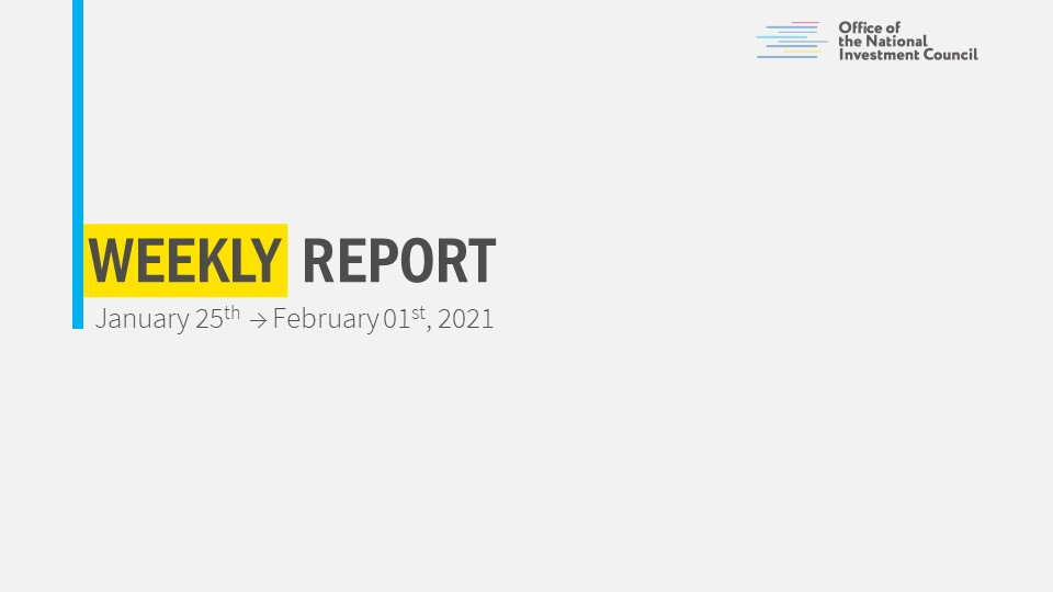 Weekly Analytical Report 25.01 - 01.02