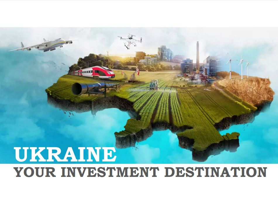 Ukraine your investment destination by ONIC